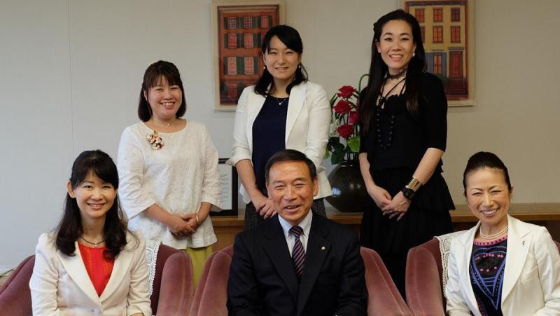 芦屋市長と起業家女子会